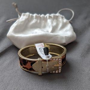 NWT Guess Leopard Bracelet